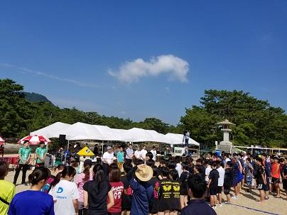 津田ビーチ20190727-1